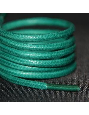 Lacets cirés verts 75 cm