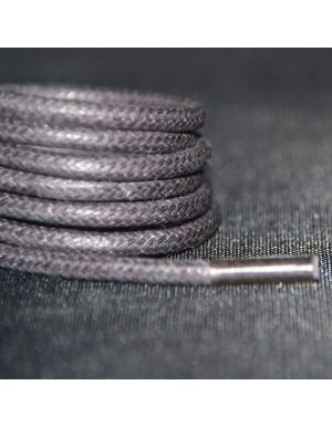 Lacets cirés gris taupe 75 cm