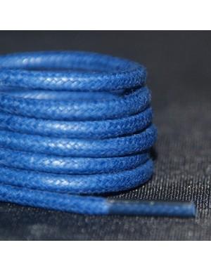 Lacets cirés bleus roi 75 cm