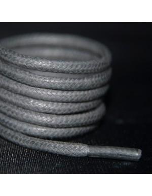 Lacets cirés gris souris 75 cm