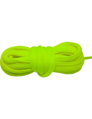 Lacets baskets jaune fluo 110 cm