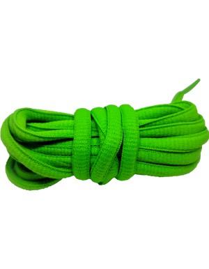 Lacets baskets vert fluo 110cm