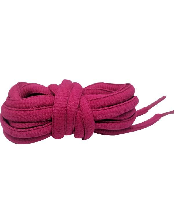 Lacets baskets rose fushia 110 cm