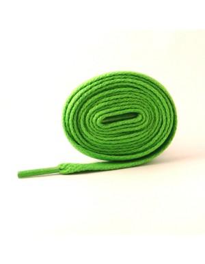Lacets plats vert fluo 110 cm