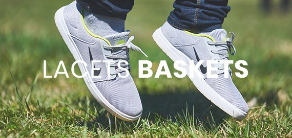 lacets de baskets